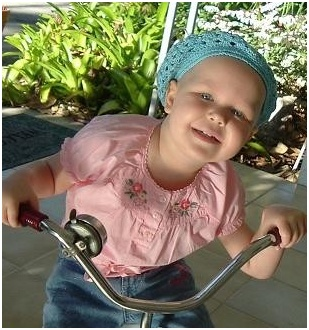 spring in january for adelaine during cancer treatment