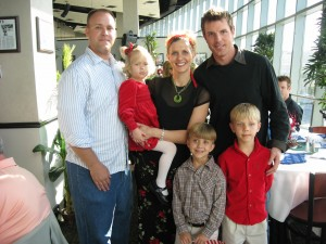 Brad Richards adopted our kids for Christmas 2007