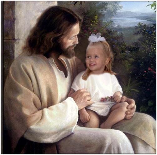 Jesus and Adelaine